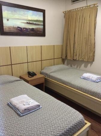 Hotel Puma: Apartamento duplo solteiro