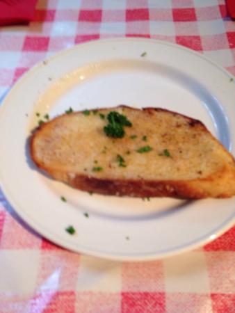 Pizza Stop: Garlic bread