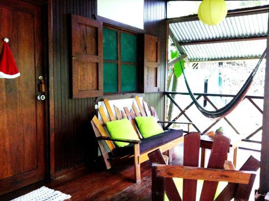 Cabinas Punta Uva: habitacion terraza