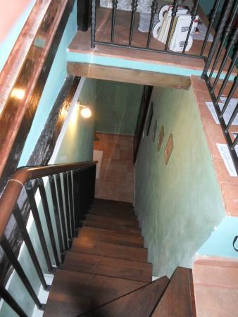 Bed and Breakfast San Rocco : Escalera del entre piso de la habitación