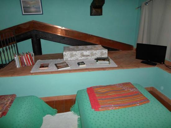 Bed and Breakfast San Rocco : Sector de la pieza