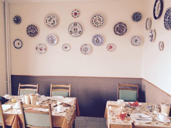 Budavar Bed & Breakfast: La sala per la colazione