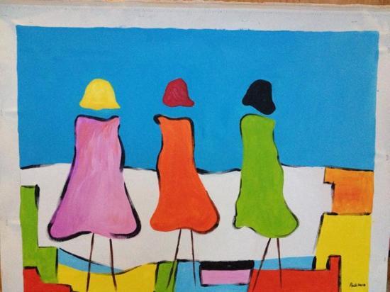 El Mouradi Club Kantaoui: peinture