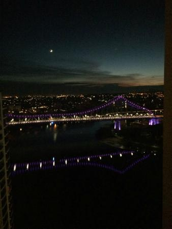 Brisbane Marriott Hotel: A ROOM WITH A VIEW-STUNNING