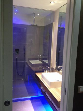 Bagno con doccia - Foto di Hotel Morgana, Rodengo Saiano - TripAdvisor