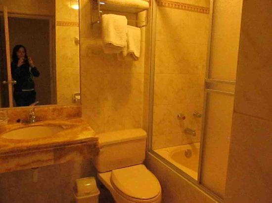 Sol Plaza Hotel Puno: Baño amplio