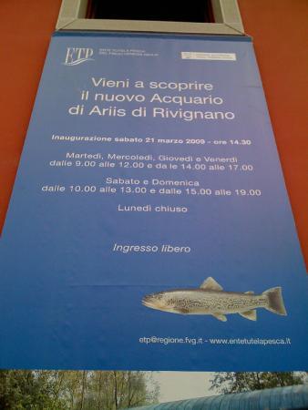 Acquario di Ariis