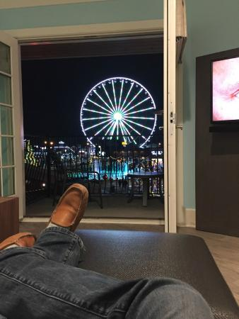 Margaritaville Island Hotel View From The Couch