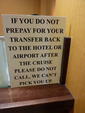 Fairfield Inn & Suites Fort Lauderdale Airport & Cruise Port: Cruise Transportation signs