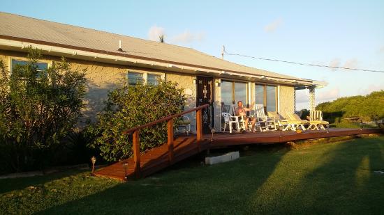 Breezy Hill Exuma Bahamas: Our very cosy accommodation at Breezy Hill