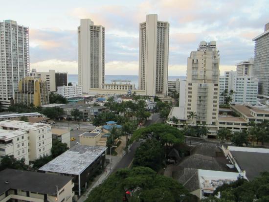 Aqua Aloha Surf Waikiki: View from our room