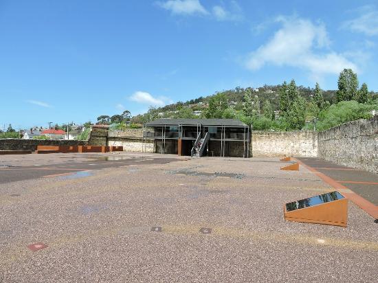 Cascades Female Factory Historic Site: Interpretation viewing platform