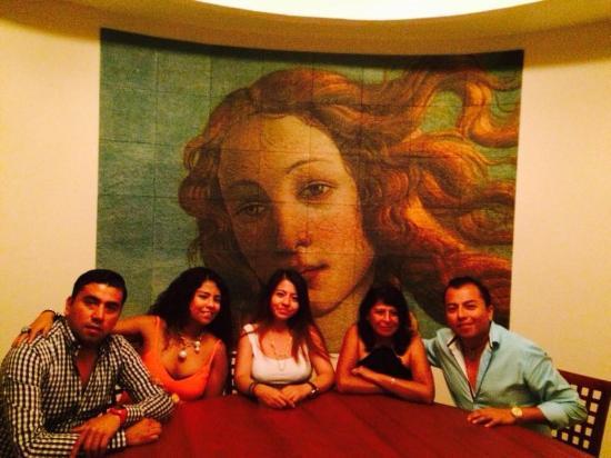 Park Royal Ixtapa: En el restaurante iraliano