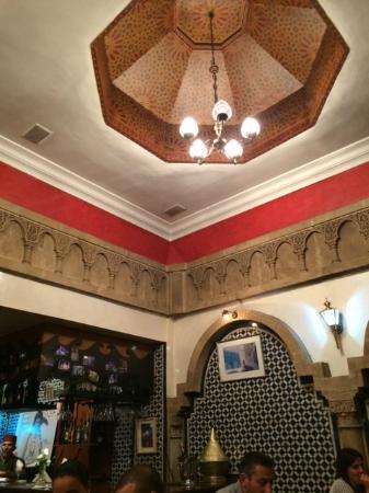 le petit beur: Inside the restaurant
