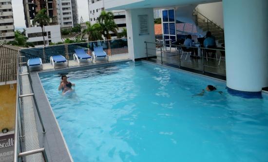 Atlantic Lux Hotel Pool Area