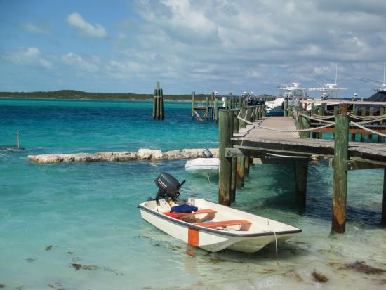 13-foot skiff - Picture of Staniel Cay Cottages - TripAdvisor