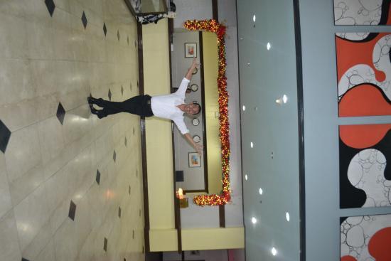 Hotel Koresco: reception lobby