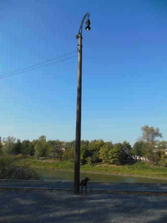Monument to a lamppost: Фонарь как произведение искусства
