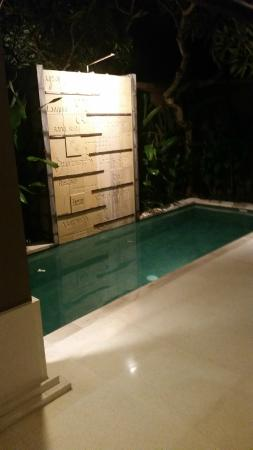 Ahimsa Beach Resort: Pool