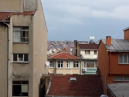 Ramada Istanbul Old City: View from our room at the back side of the hotel. Not bad at ALL :)  !!!