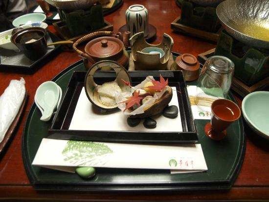Hotel Kayoutei: Kaiseki Dinner