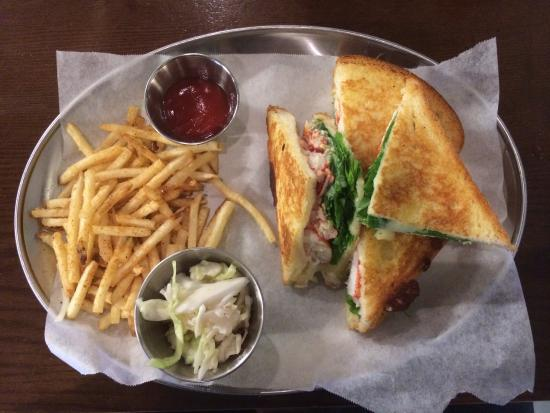 Lobster Grilled Cheese Sandwich - Photo de Lobster Bar, Séoul ...