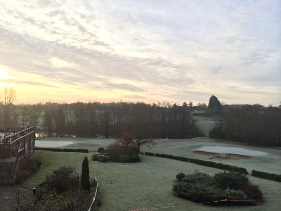 Stoke by Nayland Hotel, Golf & Spa: Lovely crisp morning