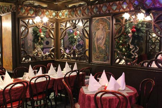D coration de no l photo de la cremaillere 1900 paris for Decoration cremaillere