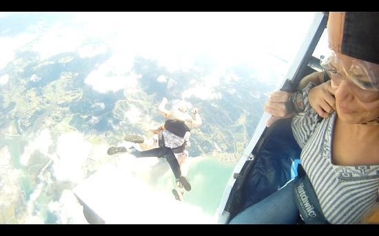 Skydive Ballistic Blondes: Mi salto