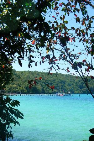 Koh Wai Pakarang Resort: вид на причал