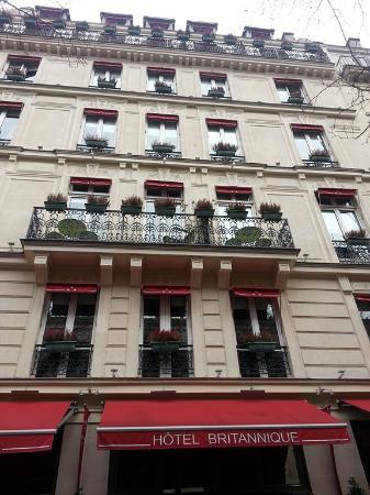The hotel picture of hotel britannique paris tripadvisor for Location hotel a paris