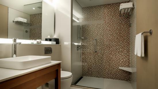 hyatt place gurgaon udyog vihar hyatt place bathroom with shower - Bathroom Place