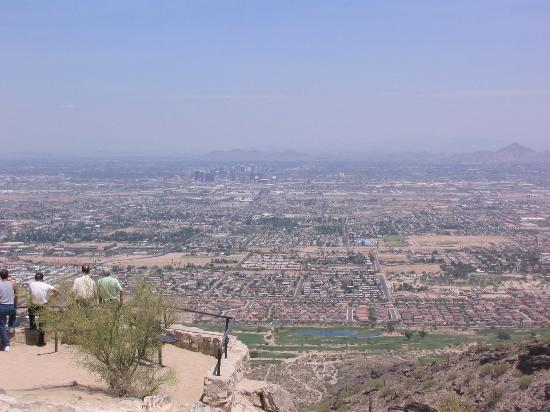 South Mountain Park: Wunderbarer Ausblick