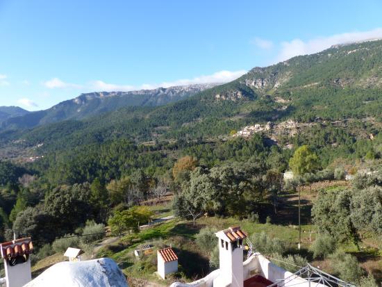 Casas Rurales en Yeste Los Ahijaderos de Tus: Vistas desde la terraza de la casa del dueño