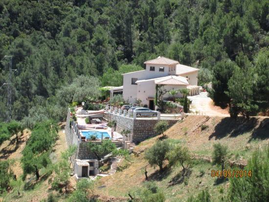Casa Rural Cortijo Valavero.