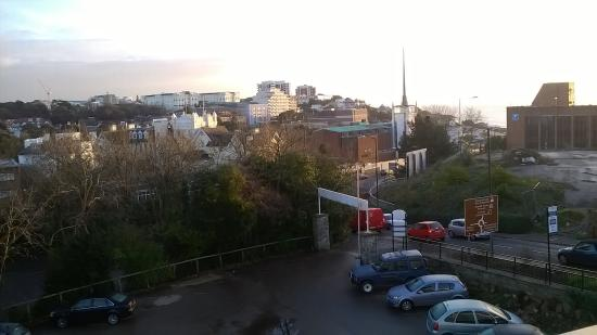 The Trouville Hotel: view and car park