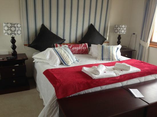 Blue Oyster B&B: sehr bequemes Bett