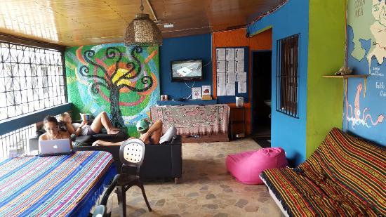 Hostal Mamallena: Área de vivência