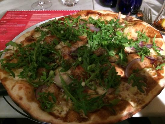 Duck Pizza Picture Of Pizza Express Luton Tripadvisor