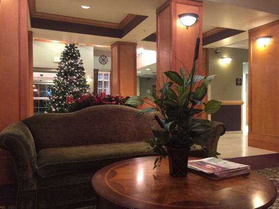 Homewood Suites by Hilton Indianapolis-Airport/Plainfield: Christmas time at Planfield, IN