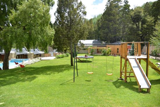 Rosas Blancas Apart Hotel: Parque recreativo
