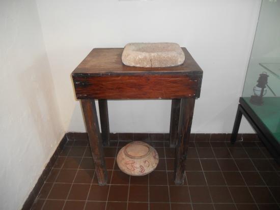 Museo Arubano: 19th Century water filtration