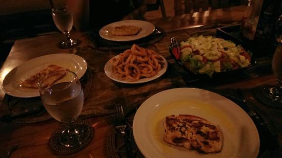 Villa Padi : Our dinner