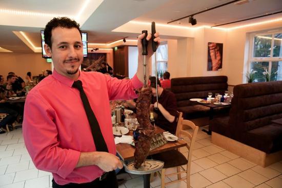 Casa Brasil: Always a warm welcome from Ricardo.