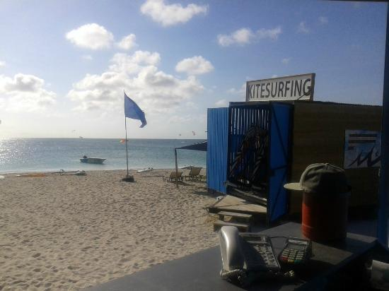 Malmok Beach, Aruba: best office on the island!
