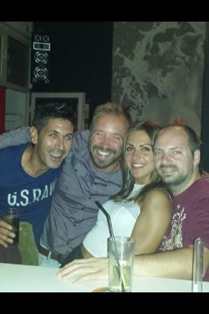 Phedrock Bar: Having fun