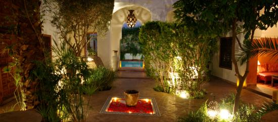 Riad l'Orangeraie: Main Patio