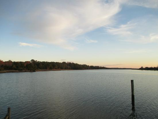 Inn at Warner Hall : View from the Boathouse at Warner Hall