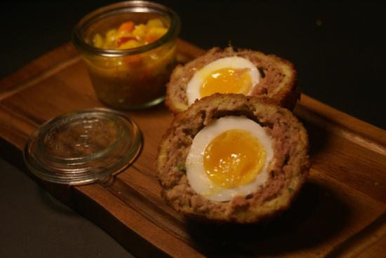 georges great british kitchen nottingham georges scotch eggs - Georges Kitchen