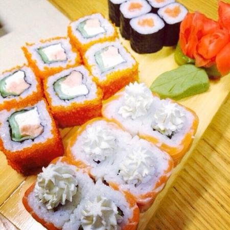 Grand Gourmet Sushi Bar: Rolls from our menu